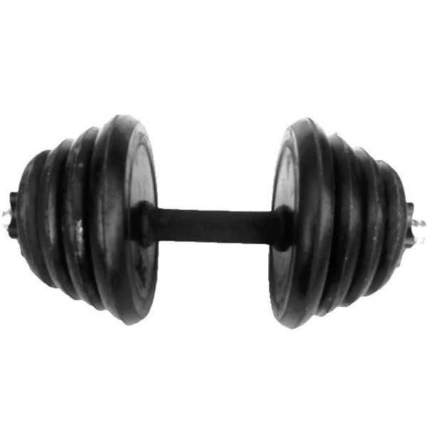 Picture of Rubber Dumbbells 10KG Rashaqa