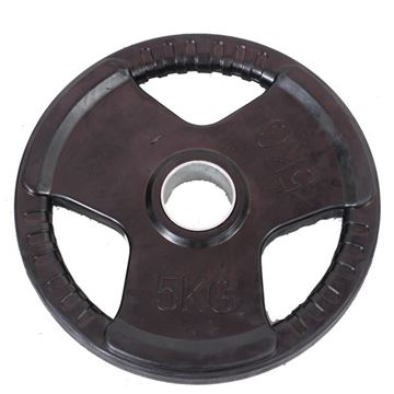 Picture of Rubber Olympic Plate 5KG 518