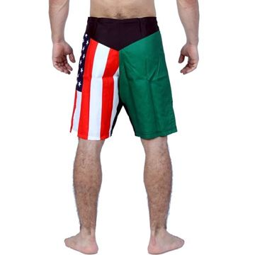 Picture of MMA Short Flags