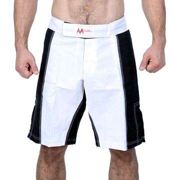 Picture of MMA Short White/Black