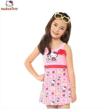 Picture of Girls Hello Kitty  Swimming Suit HEG32537