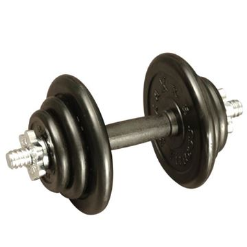 Picture of Adjustable Rubber Dumbbell 10KG