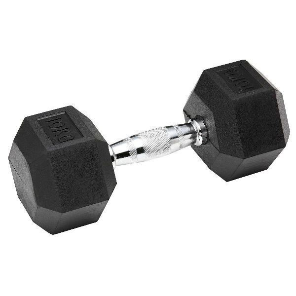 Picture of Rubber Hex Dumbbell 20KG