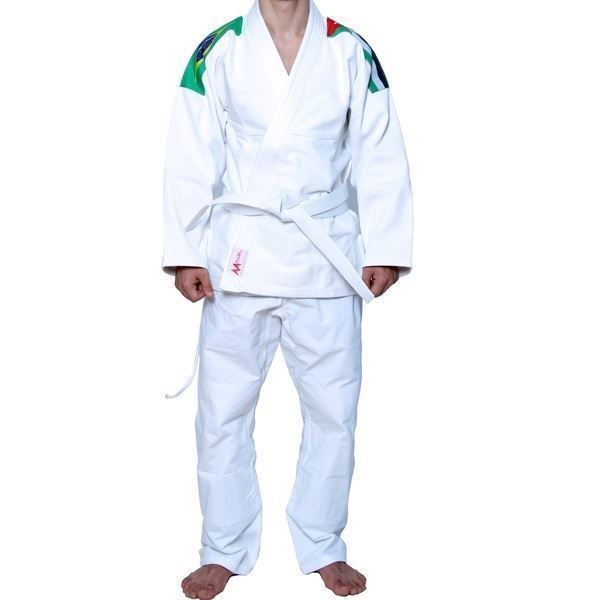 BJJ Training Suit White