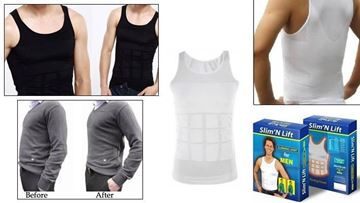 Picture of slimming shirt slim and fit