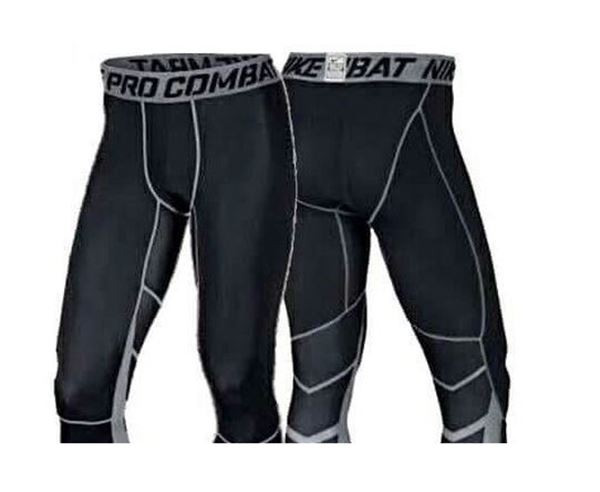 Picture of Pro combat Compression 3/4 tights Cool Dry Running Leggings