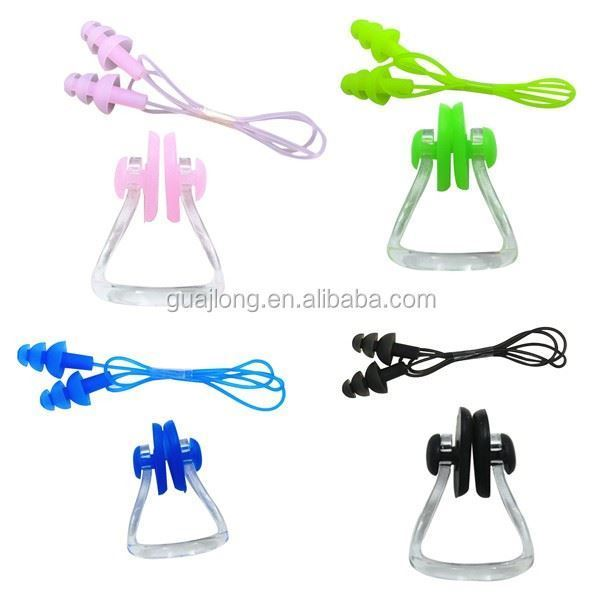 Picture of Nose Clip and Ear Plugs Set with Rope