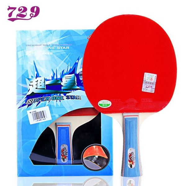 Picture of 729 Super 1 star pimple in table tennis racket