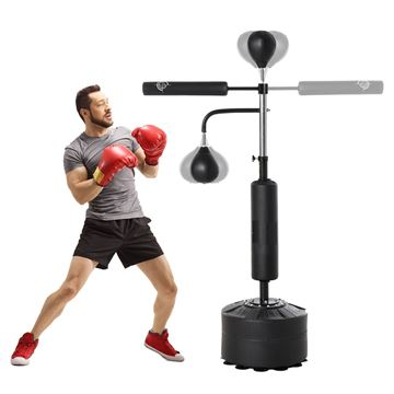 Picture of Freestanding  Stand Punching Bag With 360° Reflex Bars